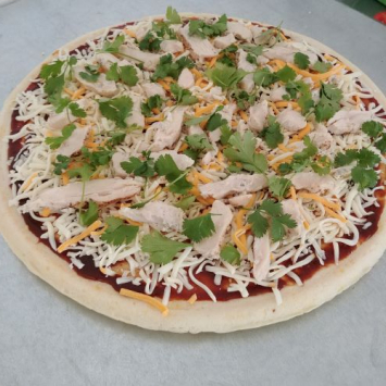 Pizza, BBQ Chicken Cilantro