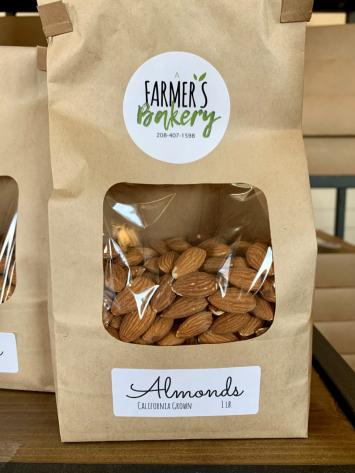 Almonds, Fresh, Raw FM