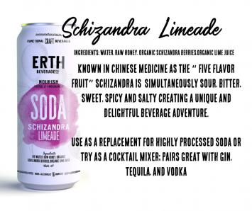 Soda, Schizandra Limeade