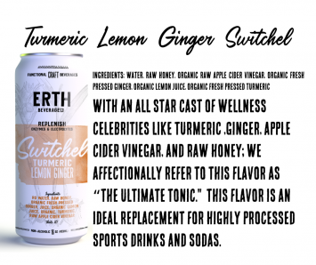 Soda, Turmeric Lemon Ginger