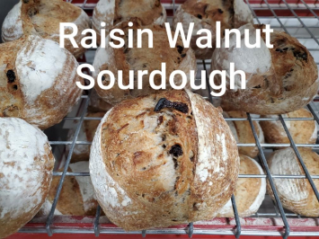 Bread, Raisin Walnut Sourdough