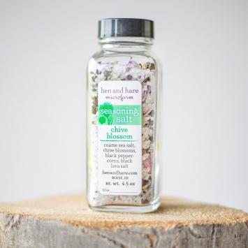 Seasoning Salt, Chive Blossom