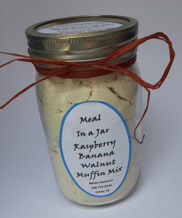 Raspberry Banana Walnut Muffin Mix