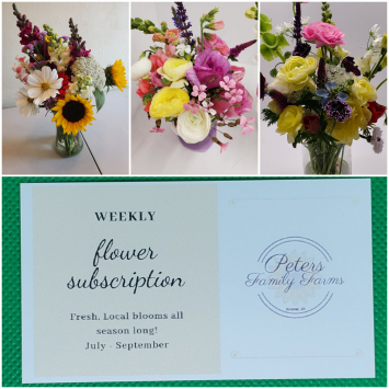 Flower Subscription 13 weeks in 2021