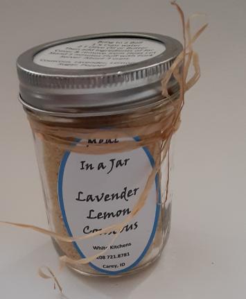 Lavender & Lemon Couscous
