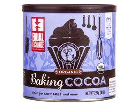 Cocoa, Baking