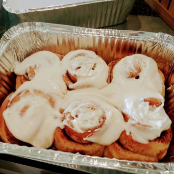 Cinnamon Rolls IBF