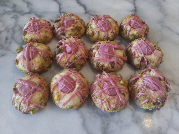 Cookies, Pistachio Ruby Chocolate