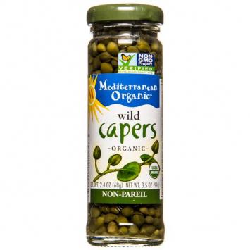 Capers, Mediterranean Organics