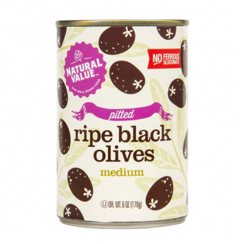 Olives, Black Pitted