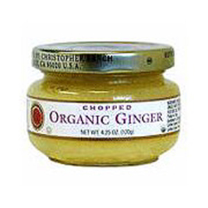 Ginger, Chopped