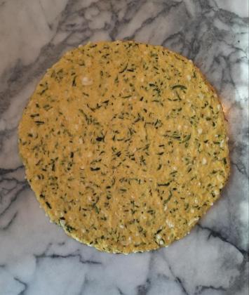 Pizza Crust, Zucchini Keto