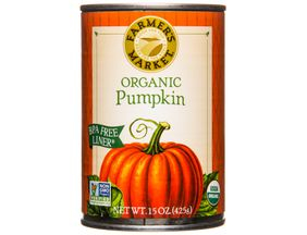 Pumpkin, Canned