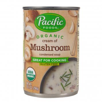 Soup, Cream of Mushroom