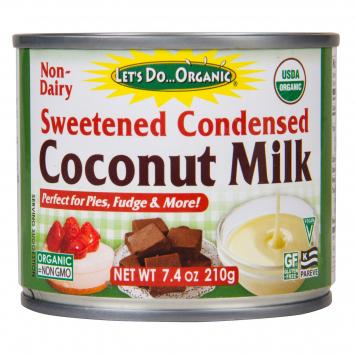 Condensed, Coconut Milk