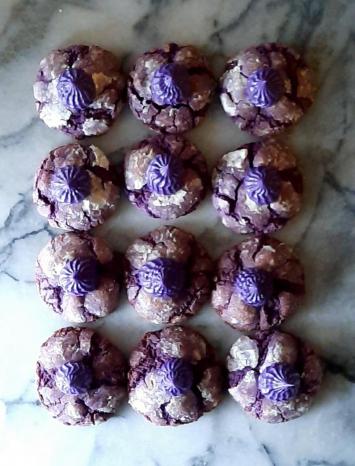 Cookies, Ube Sweet Purple Yam