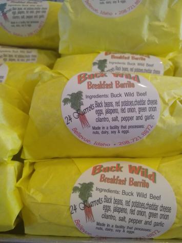 Buck Wild Breakfast Burrito