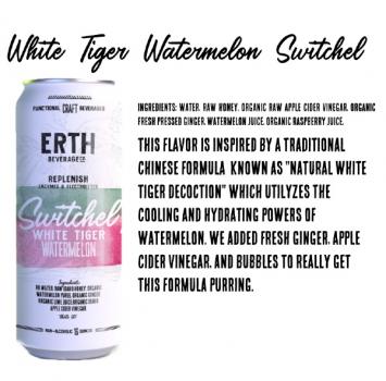 Switchel, White Tiger Watermelon