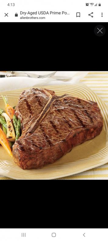 Beef, T-Bone FA