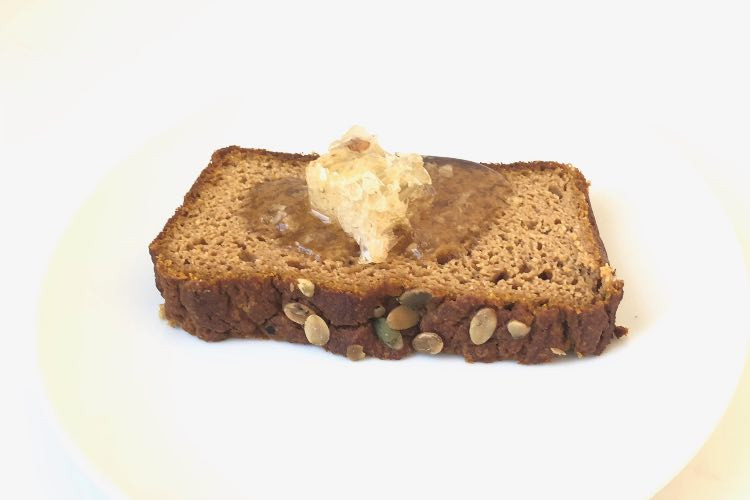 Recipe: Paleo Pumpkin Bread with Honeycomb