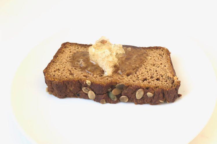Recipe: Paleo Pumpkin Bread with Honeycomb