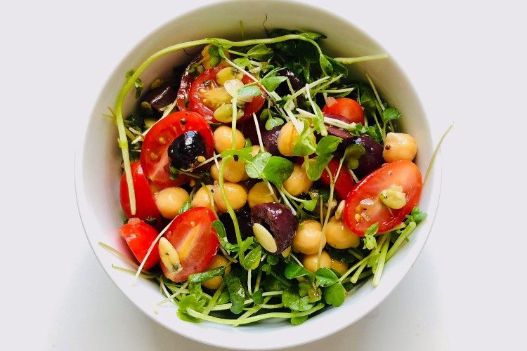 Farm Stand Recipe: Hearty Microgreen Salad