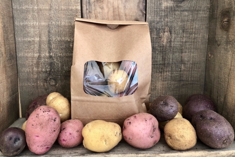 Rainbow Potatoes