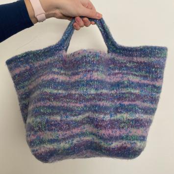 Purple & Blue Bag