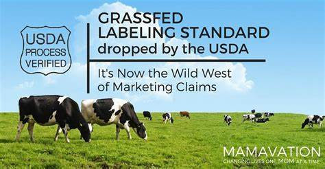 """What does """"grass fed"""" as a food label mean to the USDA? The answer is....nothing."""