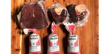 Small Bison Sirloin Tip Roast Bundle