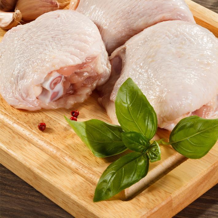 Bone-In Skin on Chicken Thighs