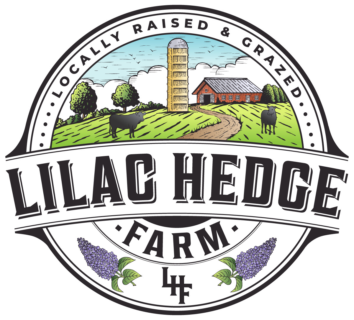 Lilac Hedge Farm Logo