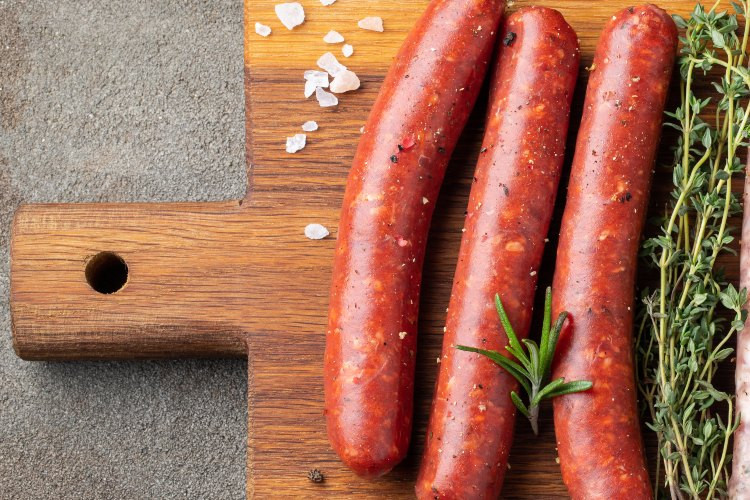 Spicy Chicken Sausage Links