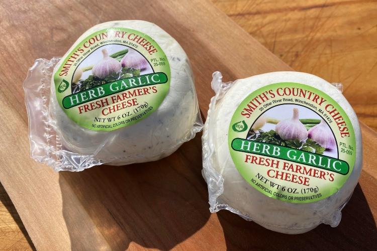 Herb Garlic Farmers Cheese