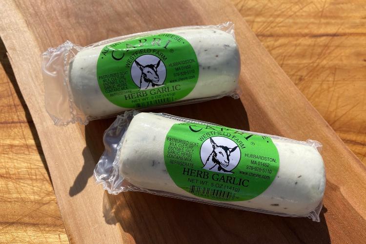 Herb Garlic Capri Goat Cheese