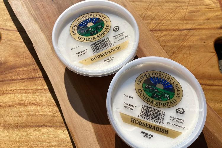 Gouda Cheese Spread with Horseradish