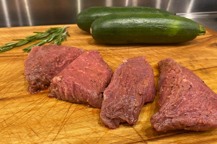 Steakhouse Marinated Beef Tips