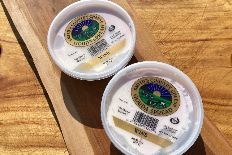 Gouda Cheese Spread with Wine