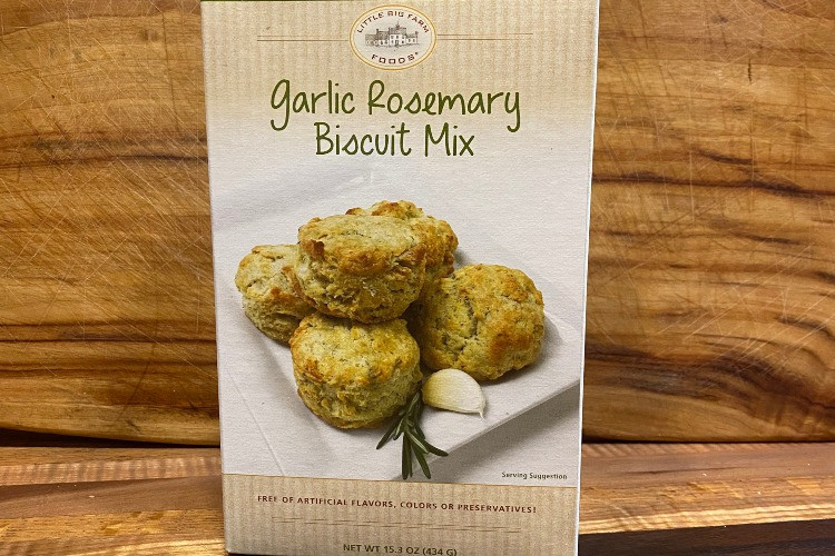 Garlic Rosemary Biscuit Mix