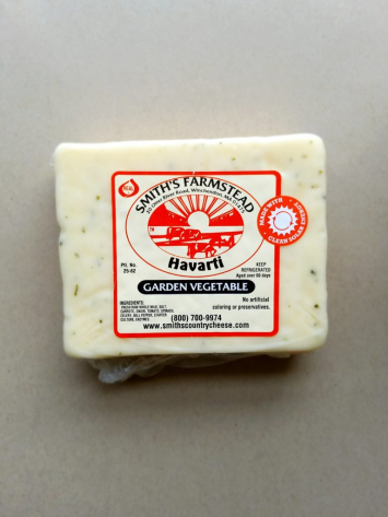 Smiths Country Cheese Garden Vegetable Havarti