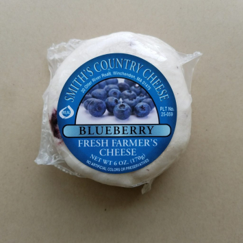 Smiths Country Cheese Blueberry Farmers Cheese