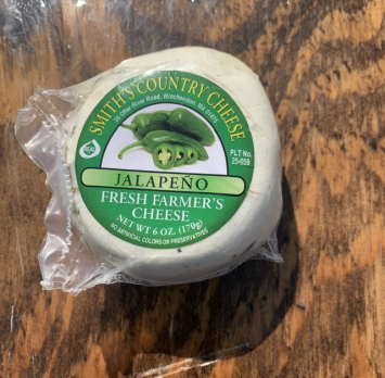 Jalapeno Farmer's cheese