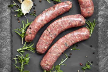 Basil Beef Sausage Links