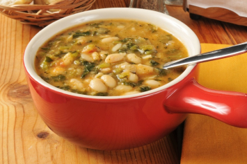 Chicken White Bean and Kale Soup