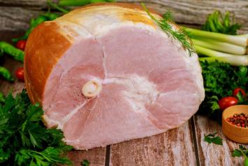Bone-In Half Smoked Ham