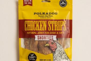 Polkadog Chicken Strip Shorties
