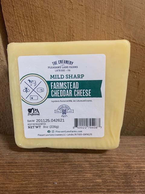 Mild Sharp Farmstead Cheddar Cheese