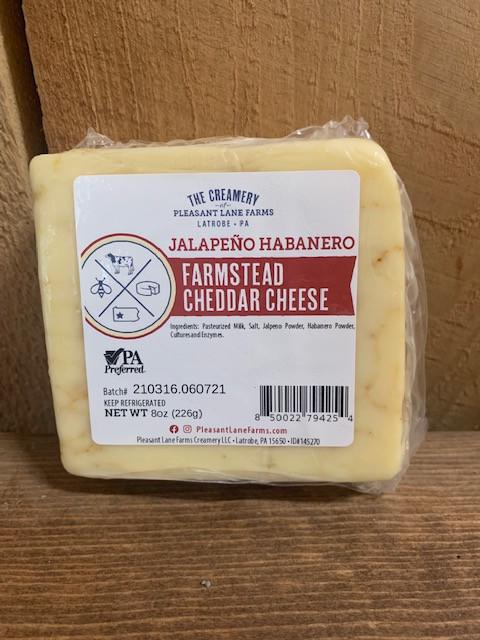 Jalapeno Habanero Farmstead Cheddar Cheese