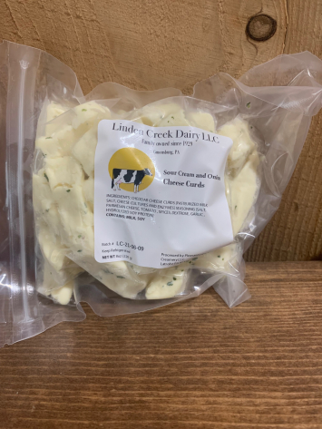 Sour Cream and Onion Cheese Curds