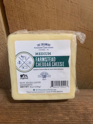 Medium Farmstead Cheddar Cheese